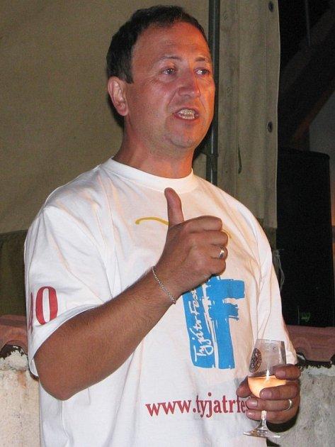 Tyjátrfest 2008. Vašek Veselý alias Wendy.