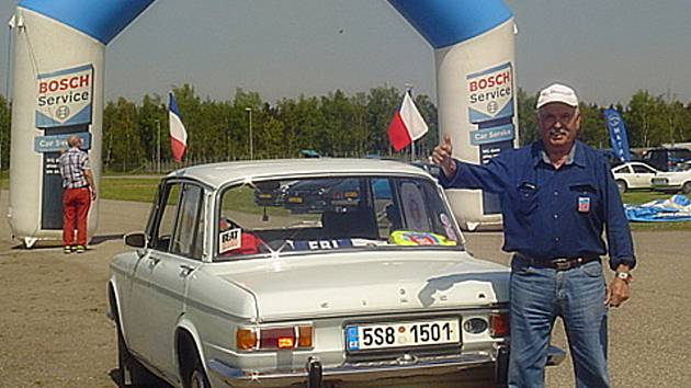 """Ivan Karlovský jezdí na """"simcařské"""" srazy pravidelně."""