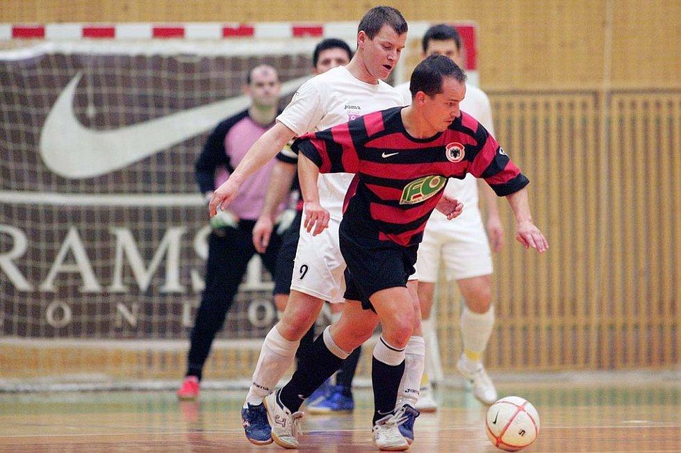 I. liga futsalu: Benago Zruč n. S. - Jistebník 6:0, sobota 7. února 2009