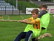 Ze zářijového náboru dětí do FK Čáslav.