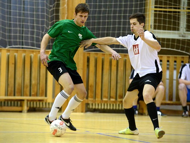 2. kolo Club Deportivo futsalové ligy 2015/16.