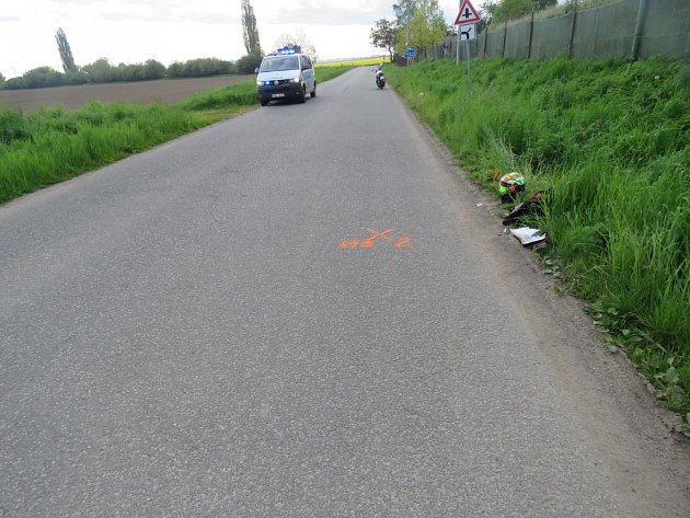Dopravní nehoda u Nových Dvorů