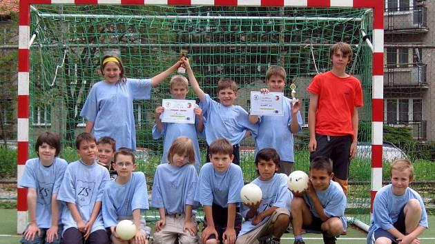 Vítězný tým - ZŠ Žižkov
