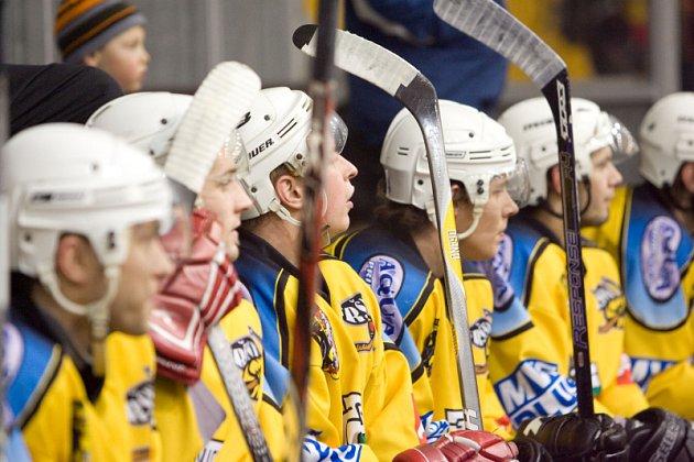 Hokej: K. Hora - Zlonice 13:1, neděle 8. února 2009