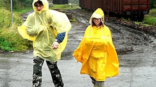 Déšť turisty neodradil