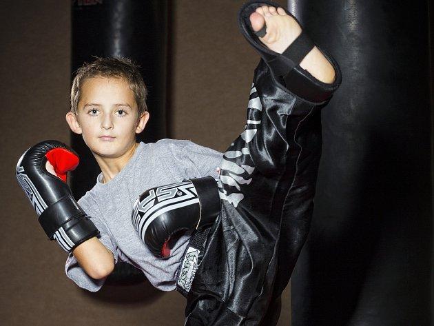 Kutnohorský kickboxer Petr Zich.