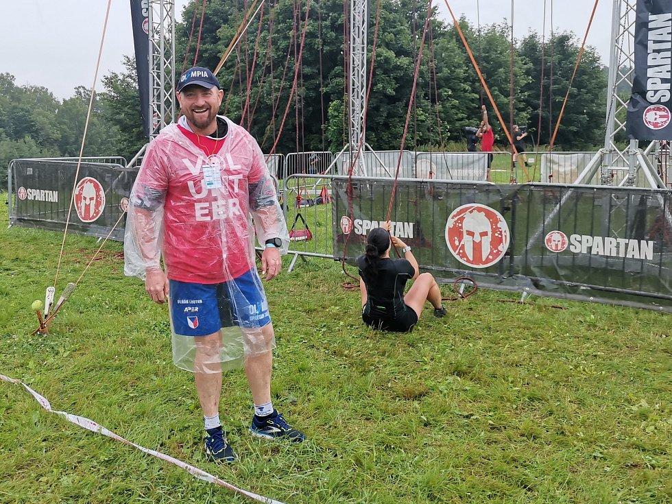 Olympia Spartan Training Kutná Hora v Liberci. Na snímku Vladislav Lhotka.