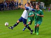 Fotbalisté Sedlce si zajistili postup do čtvrtfinále Poháru OFS po vítězství 3:2 v Suchdole.