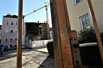 Část hotelu se v Kutné Hoře zřítila ve čtvrtek 20. srpna