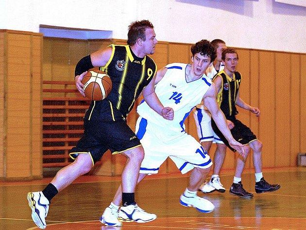 Z basketbalové KPI: Kutná Hora - Sadská.