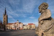 Královské město Čáslav. Historické jádro města je městskou památkovou zónou.