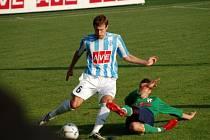 Z druholigového utkání Čáslav - HFK Olomouc.