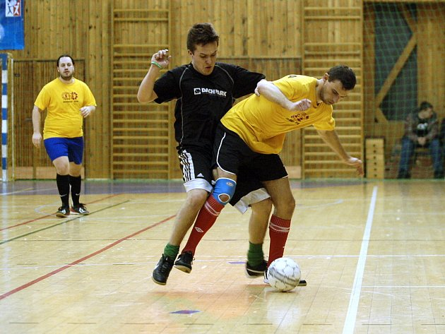 Semifinále Rebel play off CD futsalové ligy: Kantor - STS Chvojkovice 3:2, 15. března 2012.
