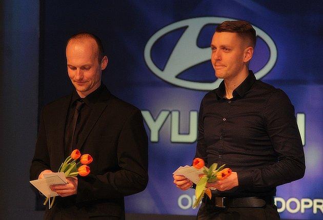 Laube podruhé Sportovcem roku Kutné Hory. Hvězdou Deníku se stal opět hokejista Vlach.