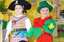 Karneval si v pondělí užily děti v křesetické mateřské škole.