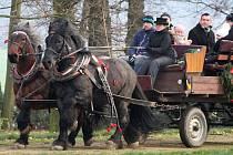 Na zámku Kačina nechyběly speciální vánoční prohlídkové trasy.
