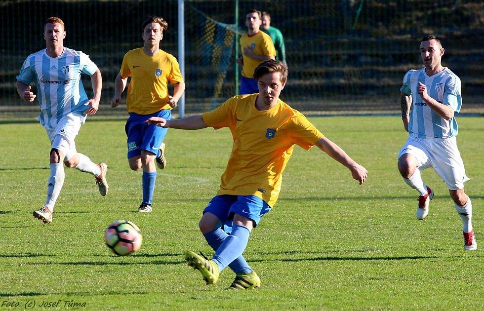 Fotbalová I. B třída, skupina C: Zruč nad Sázavou - Sadská 4:3 na penalty.