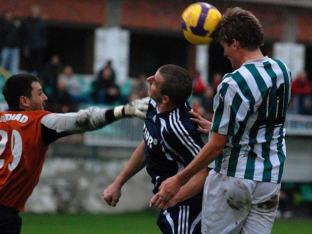 Fotbal I. A třída: K. Hora - Kouřim 2:1, neděle 25. října 2009