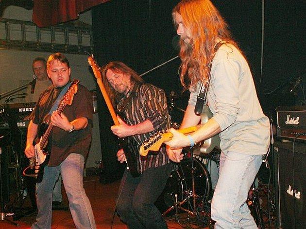 Rocková hudební skupina Keks.