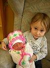 Agáta Kamenárová se poprvé na svět podívala 4. ledna 2019 v 17.15 hodin v čáslavské porodnici. Vážila 2960 gramů a měřila 48 centimetrů. Doma v Kutné Hoře ji přivítá maminka Lenka, tatínek Miroslav a dvouletý bráška Oliverek.