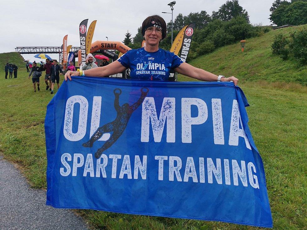 Olympia Spartan Training Kutná Hora v Liberci. Na snímku Jindřiška Tesaříková.