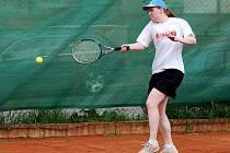 4. kolo tenisové III. třídy D: Kutná Hora C - Votice B (Štěpánka Janálová), 29. května 2010.