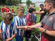 Z krajského finále okresních fotbalových výběrů v Čáslavi, kategorie U11.