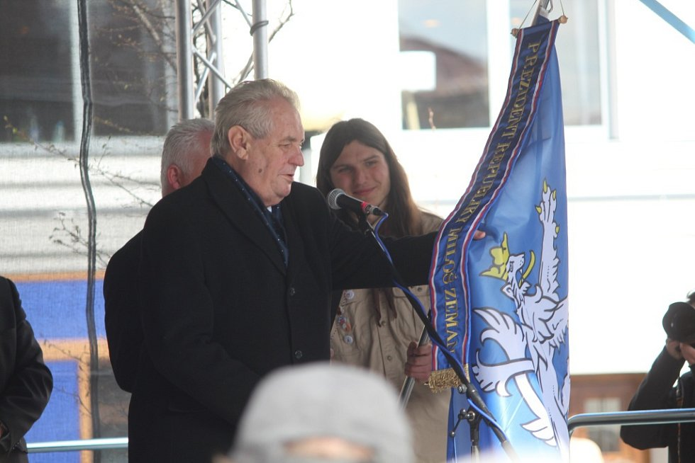 Návštěva prezidenta Miloše Zemana v Čáslavi
