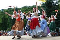 Taneční skupina Rondellus ze Vsetína.