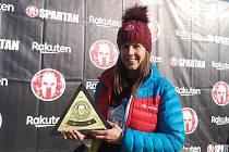 Vítězka Spartan Sprintu v Brně Martina Pavlíková.