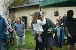 Nádvoří hradu Pirkrštejn ožilo muzikou.