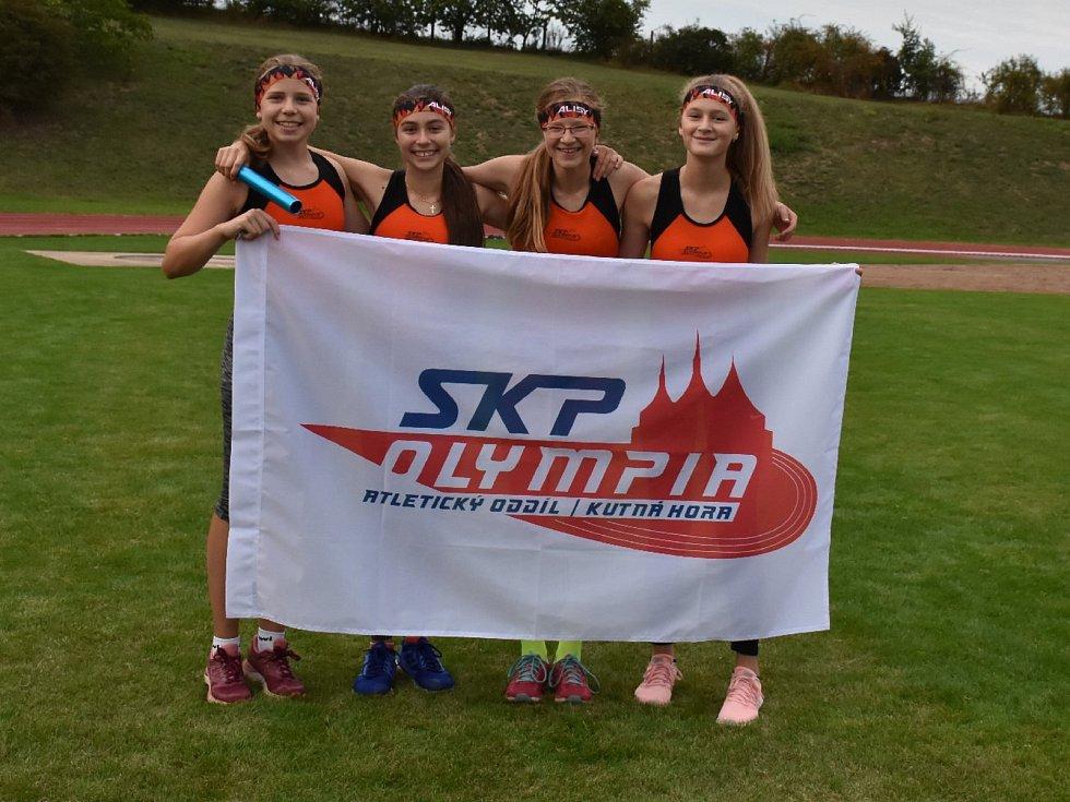 Kutná Hora hostila čtvrté kolo atletického krajského přeboru mladších družstev.