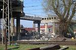 Demolice malínského mostu