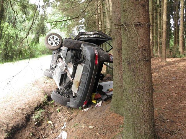 Dopravní nehoda u Dobrovítova