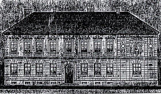Perokresba budovy, rok 1910
