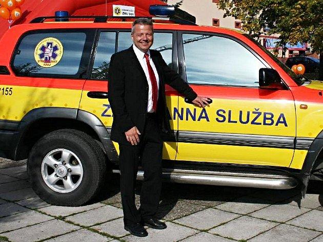 Martin Houdek, ředitel středočeské záchranné služby.