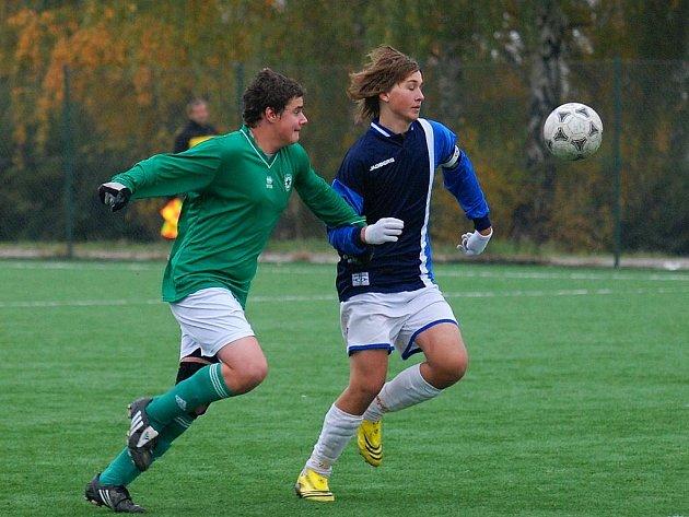 Fotbal: Ml. dorost K. Hora - SK Kladno B 2:3, neděle 1. listopadu 2009