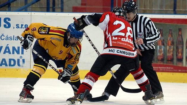 1. utkání kvalifikace o 1. ligu dorostu: Kutná Hora - Chrudim 3:6, 9. března 2012.