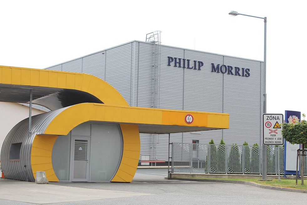 Kutnohorská tabákovka Philip Morris