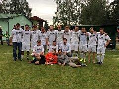 Fotbalisté Paběnic v sezoně 2016/17.