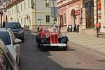 Veterán Rallye Kutná Hora v neděli.