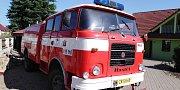 Stará stříkačka z Hlízova by měla posloužit dalšímu sboru dobrovolných hasičů.