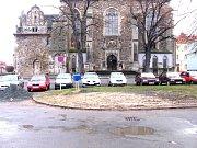 Kostelní náměstí v Čáslavi.