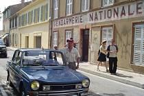 Filmová četnická stanice v Saint Tropez.