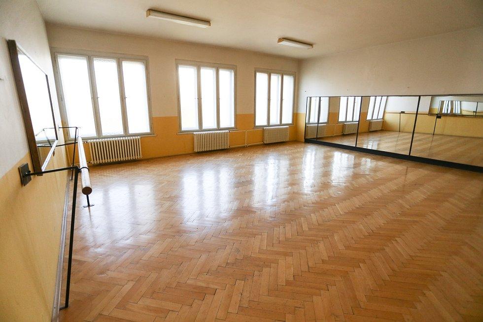Tylovo divadlo v Kutné Hoře: taneční sál.