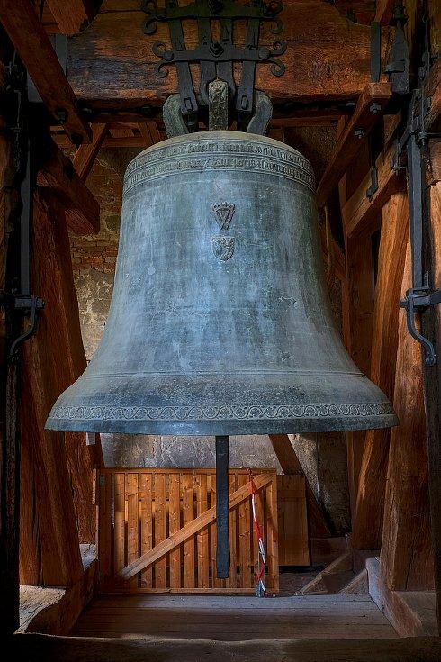 Zvon Ludvík byl ulit v roce 1510 mistrem Ondřejem Ptáčkem v Kutné Hoře