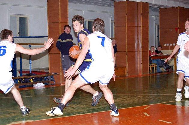 Z utkání Kutná Hora - BC Benešov B.