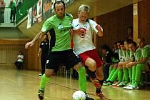 3. kolo Chance futsal ligy: Benago Zruč - Balticflora Teplice, 25. září 2012.