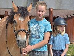 Prázdniny koňmo v Miskovicích - 2. července 2014