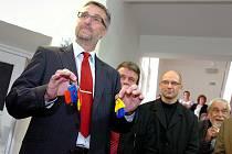 Slavnostní předání klíčů od zrekonstruovaného pravého křídla kutnohorské nemocnice